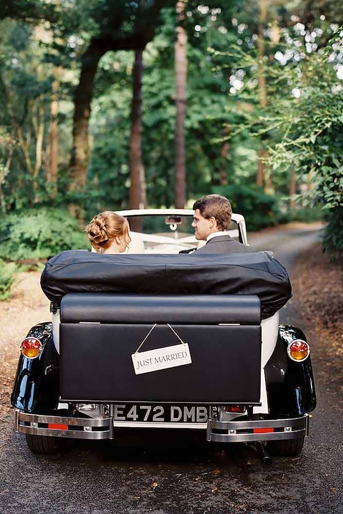 24 Non Limo Wedding Exit Photo Ideas For Modern Couples Wedding