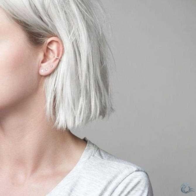 Pin Von Ear Piercing Auf Haar Accessoires Haarschnitt Bob Haarschnitt Styling Kurzes Haar