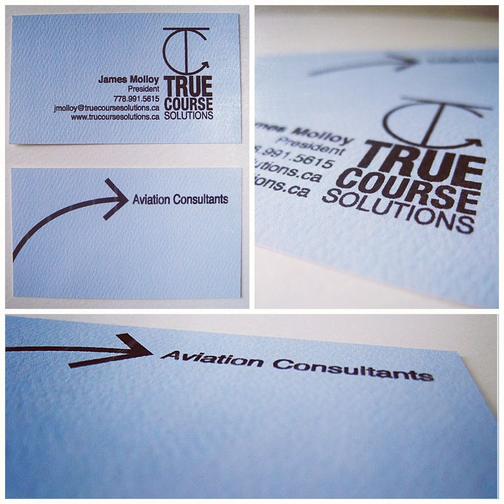 Business Cards And Logo Word Mark For Pilot And Consultant