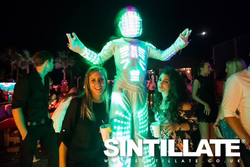 Here he is in action for Sintillate Marbella, June 2016