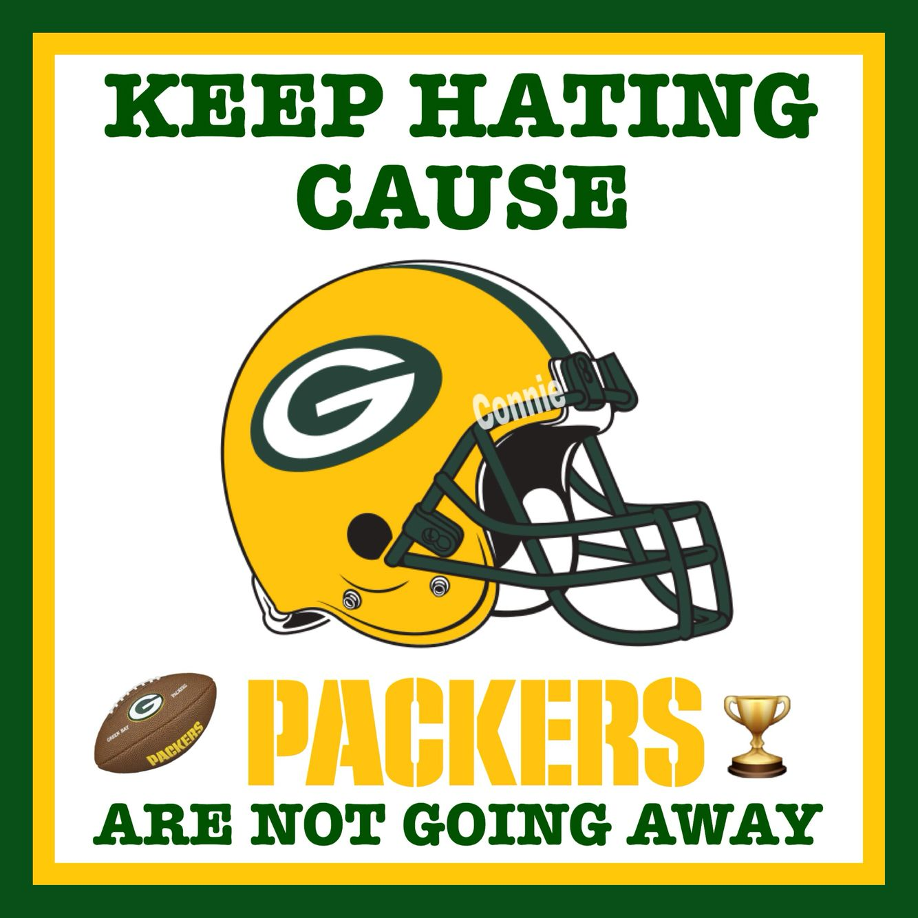 That Is True There Is A Guy Who Always Talked About Aaron Rodgers Every Sunday And He Talk Green Bay Packers Logo Green Bay Packers Baby Green Bay Packers Fans