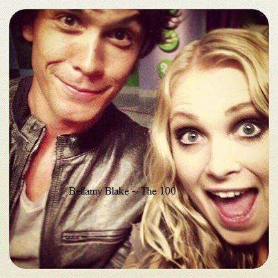 Bob Morley and Eliza Taylor - Bellamy Blake and Clarke Griffin II The 100 ships: Bellarke