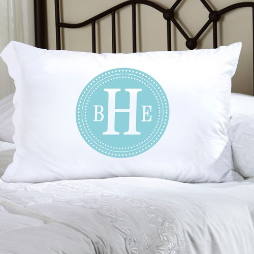 Personalized Initial Pillow Case-Personalized Initial Pillow Case