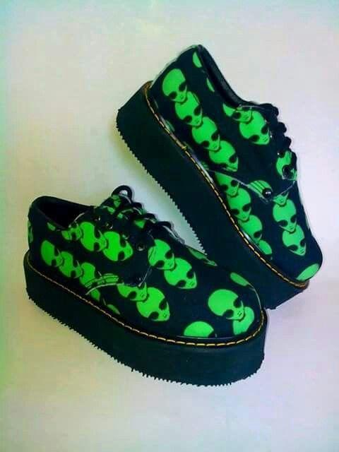 Alien shoes!