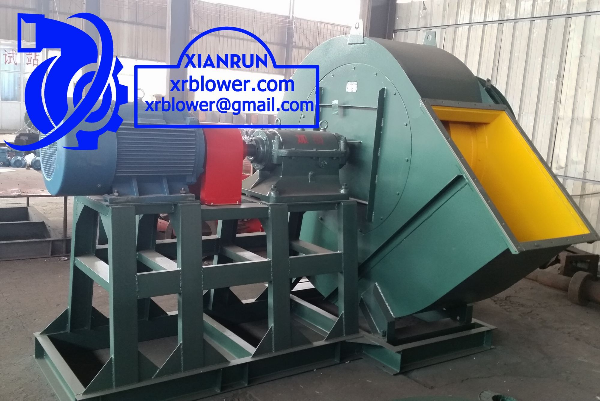 Six Large Centrifugal Fans Functions in Power Plant Boilers by ...
