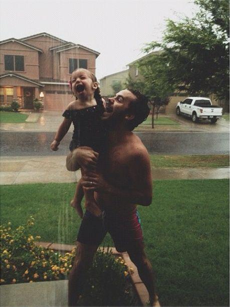 Dies ist mit Abstand das süßeste Vater-Tochter-Foto, das ich je gesehen habe. Ich will mein ... -   #