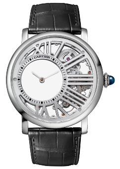Cartier Rotonde De Cartier Mysterious Hour Skeleton