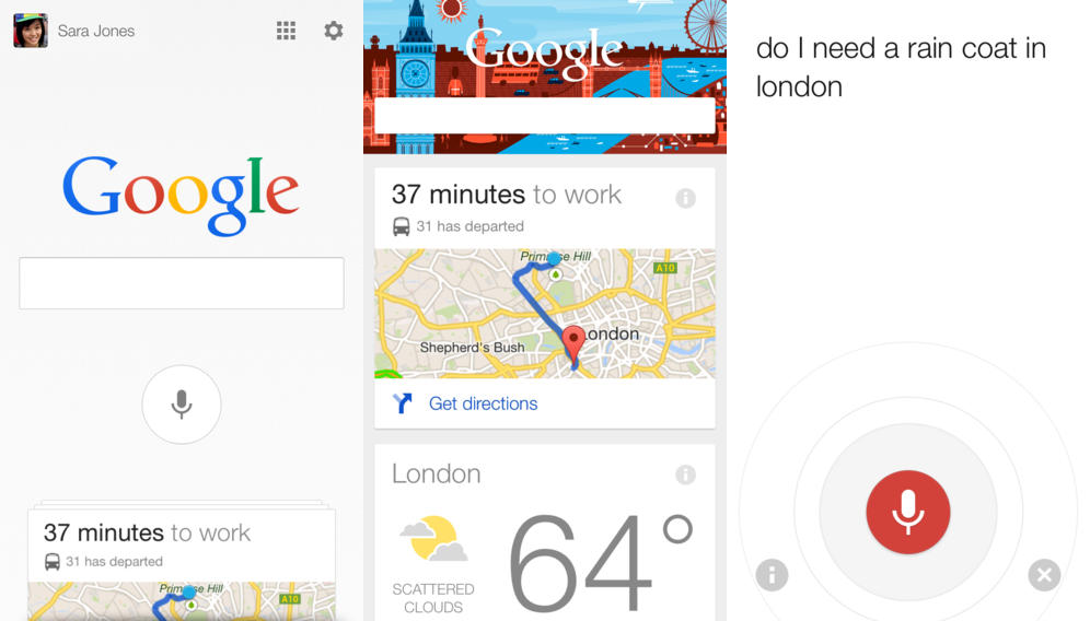 Google Now for iOS Receives a Major Update  Google has pushed an update to its Search app for iOS, bringing a bunch of new features and enhancements for Google Now and....  Read more at: http://www.topapps.net/apple-ios/google-now-for-ios-receives-a-major-update.html/