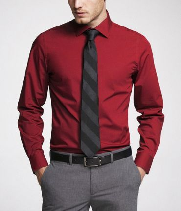 Men's Dress Shirts: Find Cotton Dress Shirts at Express | Dress ...