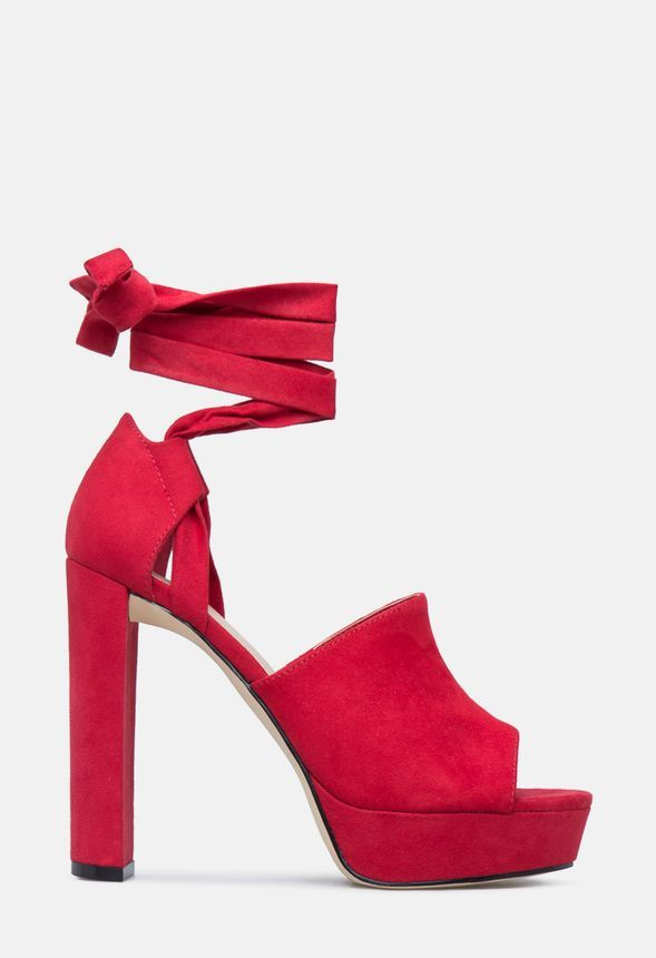 a3a437ccb Pamela Heeled Sandal in Red - Get great deals at JustFab