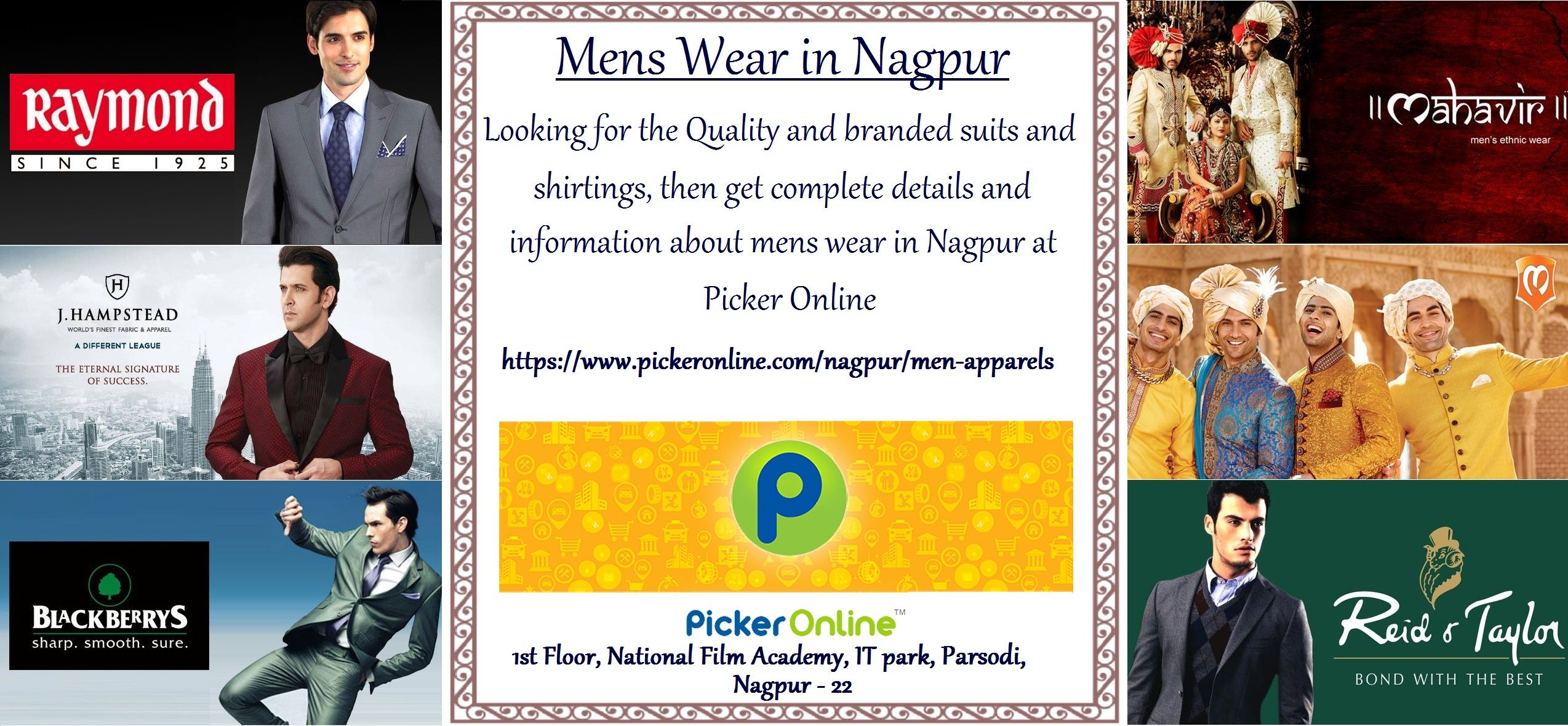 Mens Wear In Nagpur Quality Branded And Best Suiting Available In Nagpur Get The Contact Details Of Men Apparel In Nagpur Menswear How To Wear Film Academy