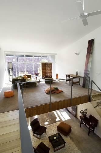 modern mezzanine wooden concept design ideas | Archi - Courtyards ...
