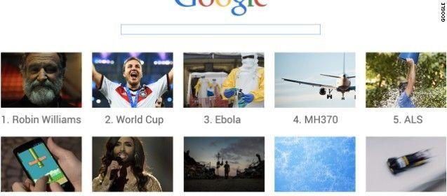 今年の世界検索ランキング発表、グーグル