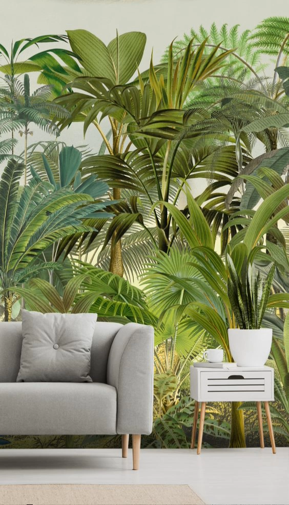 Photo of Create a stunning room with a Tropical Wallpaper Mural from Wallsauce