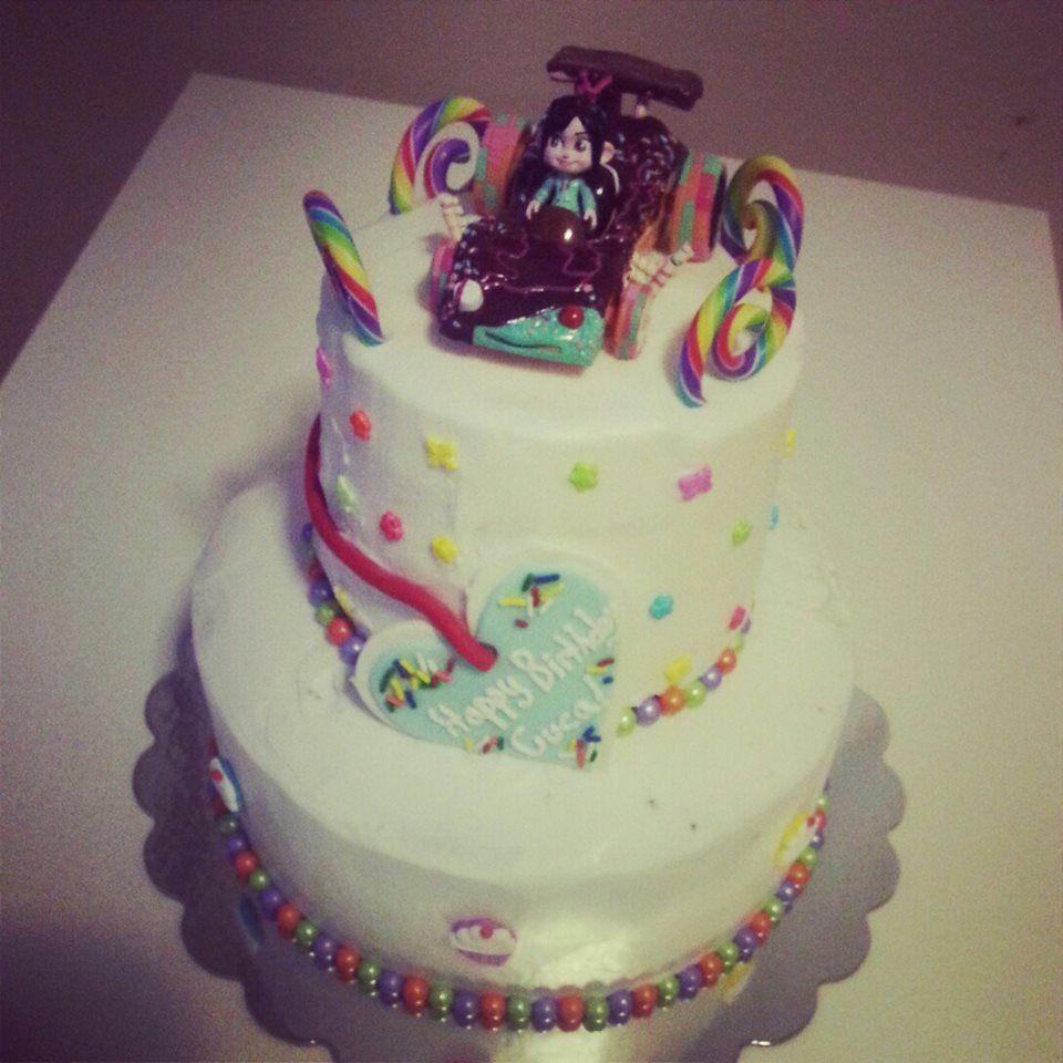 Vanellope Von Schweetz Cake Treats I Have Made