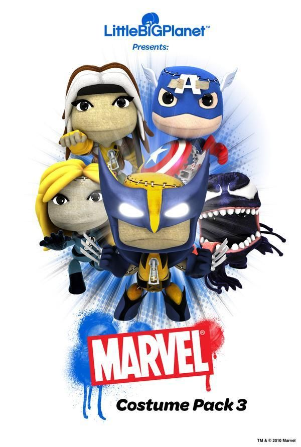 little big planet marvel lol!