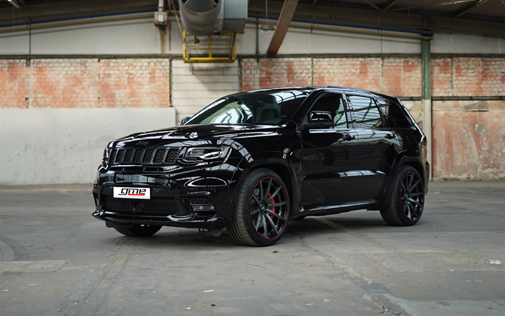 Download Wallpapers Gme Tuning 4k Jeep Grand Cherokee Srt 2018 Cars Black Grand Cherokee Jeep Besthqwallpapers Com Jeep Grand Cherokee Srt Jeep Grand Jeep Srt8