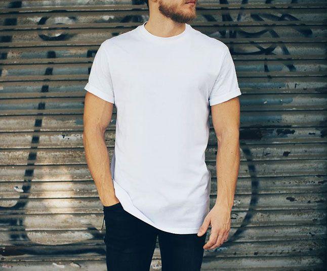 Download Realistic White T Shirt Mockup Psd Dekorasi