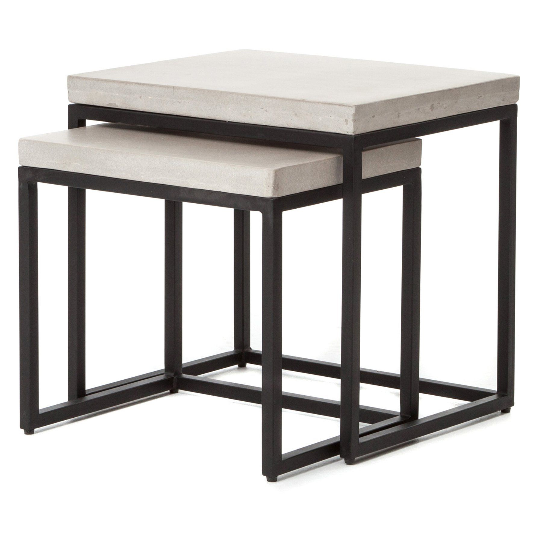 Four Hands Maximus Nesting Side Table Vcns F001b