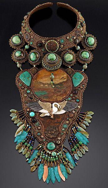 Sherry Serafini neckpiece