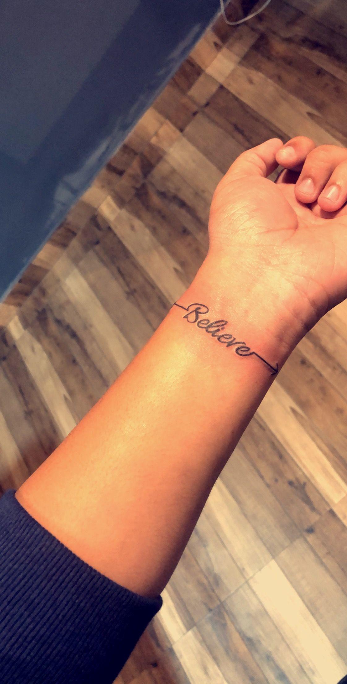 Believe Tattoo Design Believe Tattoos Tattoos Tattoo Designs