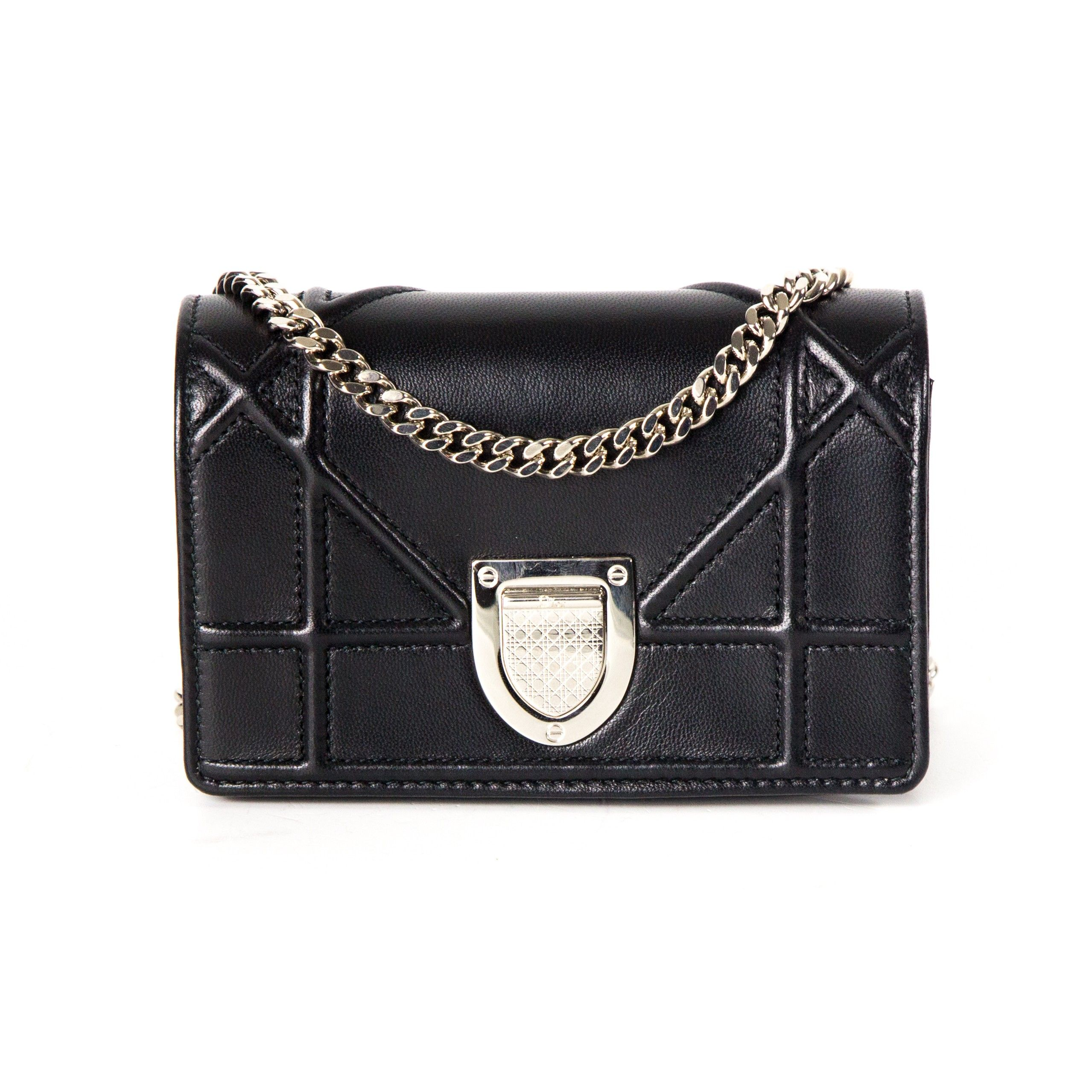 Christian Dior Diorama Black Mini Crossbody Bag - Dior - Diorama Mini  Crossbody Bag can also