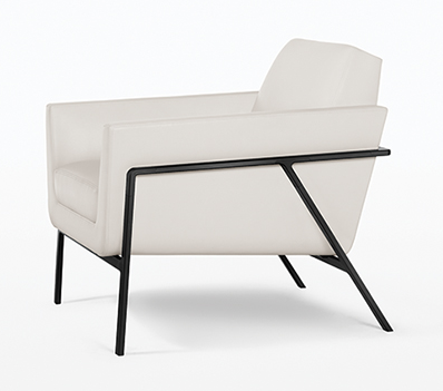 Fabulous Finds From The San Francisco Design Center   Holly Hunt Stilt  Coupe Chair Available At