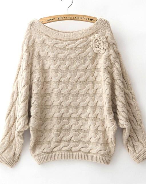 Farb-und Stilberatung mit www.farben-reich.com - Twisted knit sweater