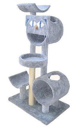 Cat Face Cat Gym Tower Animal Room Pet Furniture Cat Scratching Furniture