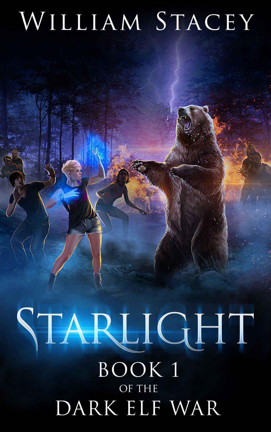 Amazon Com Starlight The Dark Elf War Book 1 Ebook William