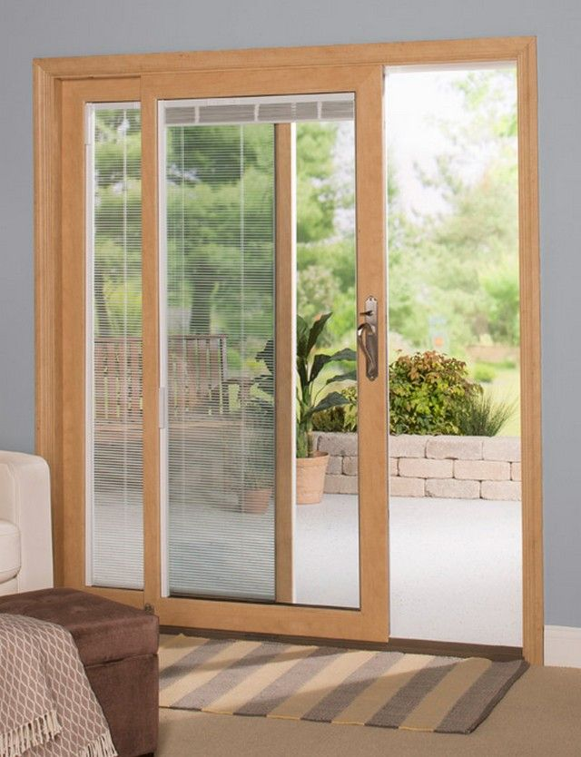 Therma Tru Sliding Doors With Blinds Inside   Google Search