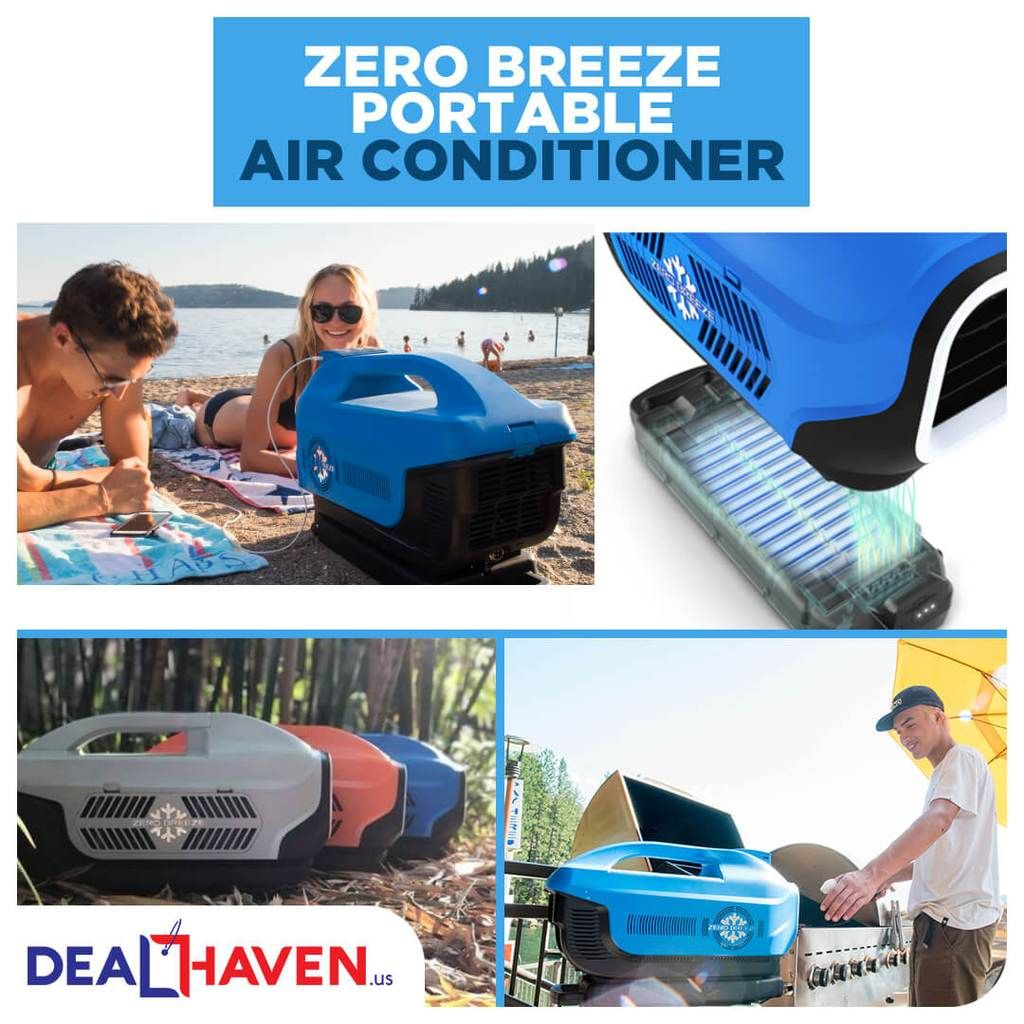 Zero Breeze Portable Air Conditioner Portable air