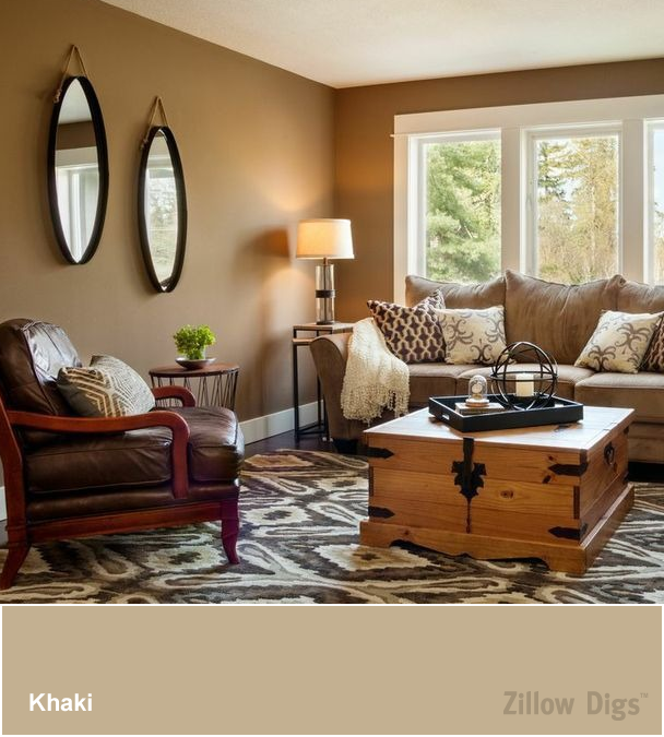Room Color Trend Khaki Is The New White Living Room Colors Living Room Paint Room Colors