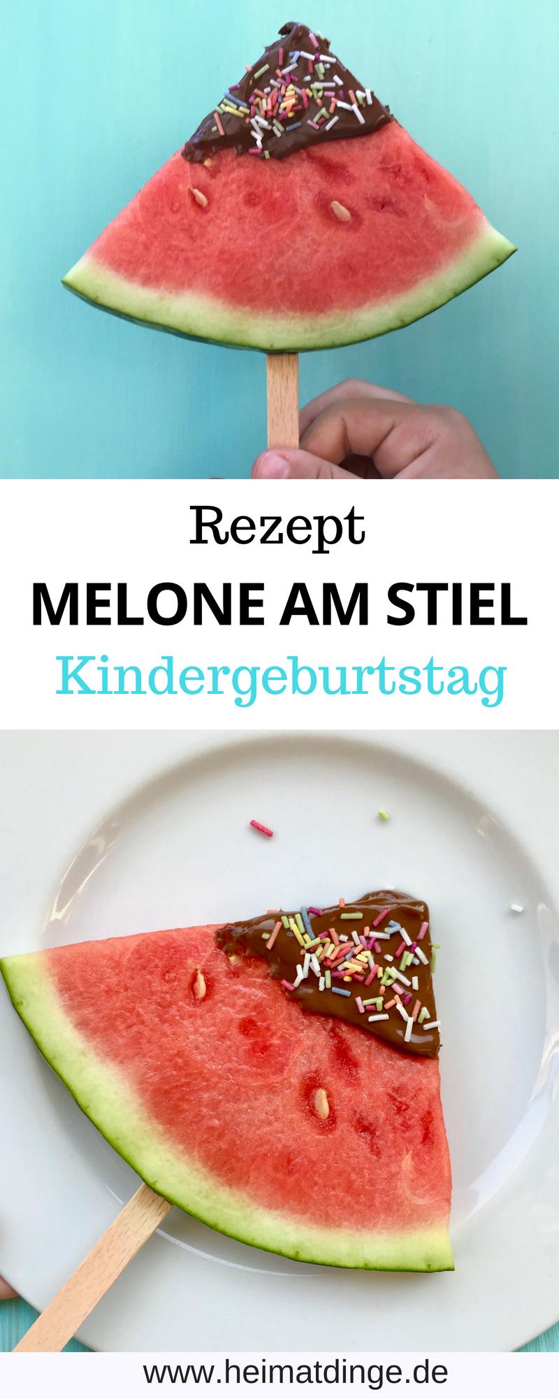 Photo of Schneller Partysnack: Melone am Stiel als Erfrischung für den Sommer –