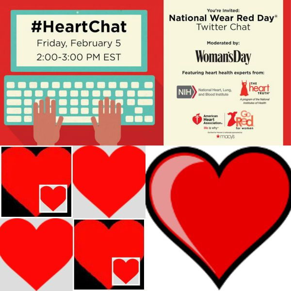 National Wear Red Day Join The Heartchat Red Day Day Blog Love