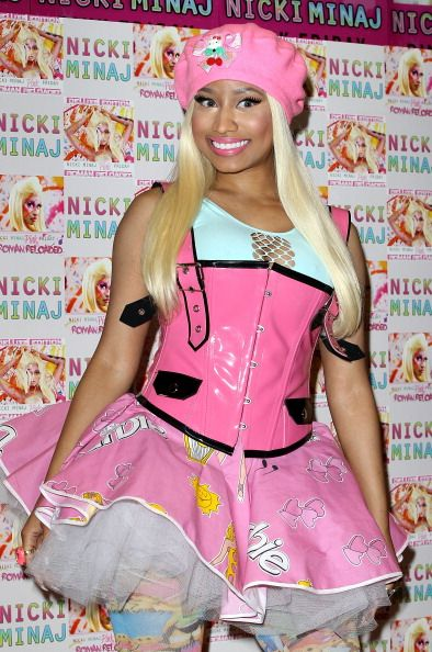 Nicki in Barbie Oufit I would so wear this! My Style Pinterest - nicki minaj halloween ideas