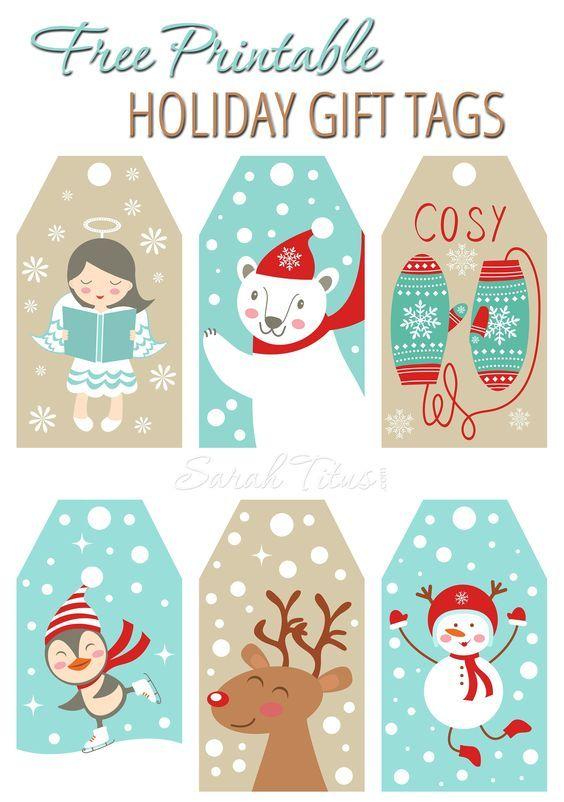 adorable free printable holiday gift tags sarah titus the best christmas and holiday free printables gift tags gift card holders christmas