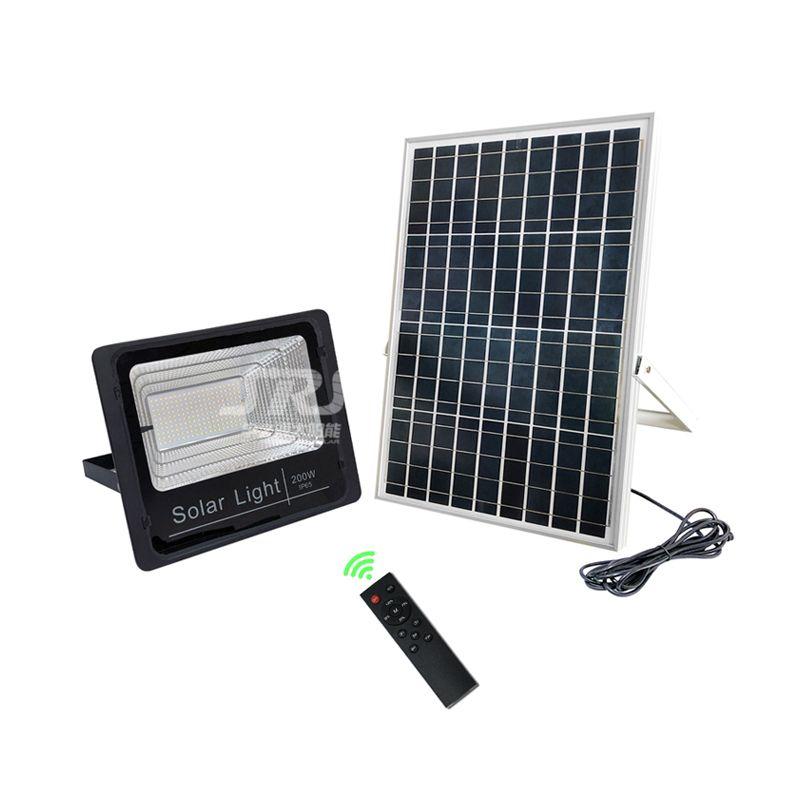 High Power 200w Led Flood Light Solar Use Srs Patent Intelligent Controller And Ai Intelligent Power Distribution Technology So Smart Backup 7 Rainy Days