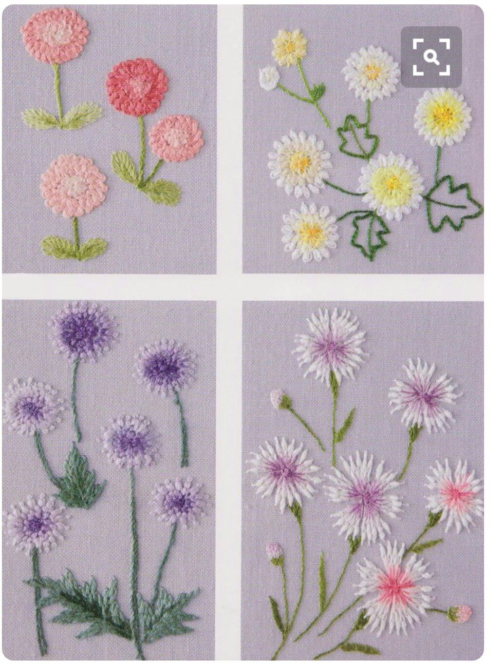Pin by glten sargl on pli oyalar pinterest flower in my garden hand embroidery stitch sewing applique patchwork quilt pdf e patterns jeuxipadfo Choice Image