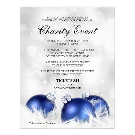 Charity Event Flyers | Fundraising Flyer Templates | Event Flyers