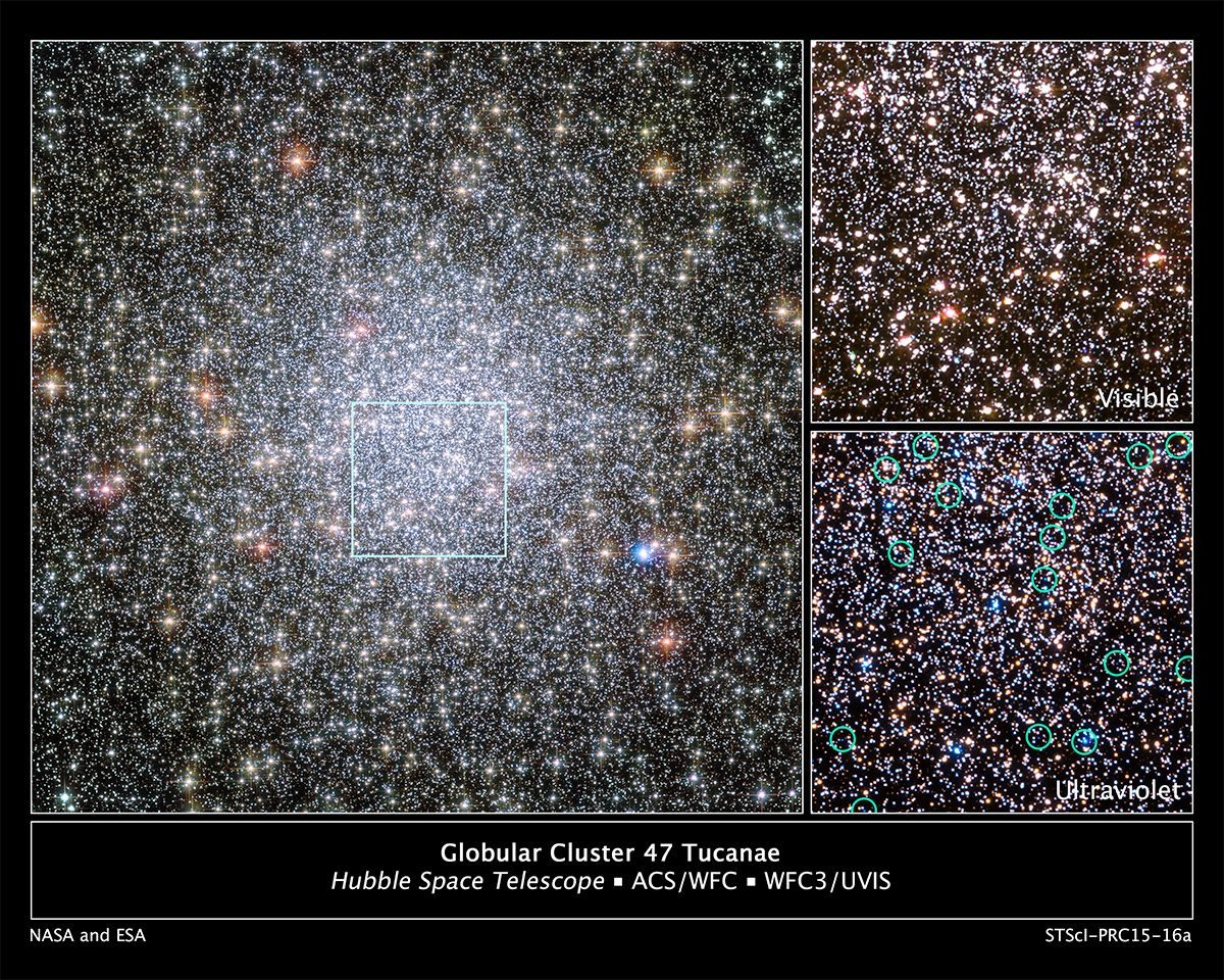 HubbleSite - NewsCenter - Hubble Catches a Stellar Exodus in Action (05/14/2015) - Release Images