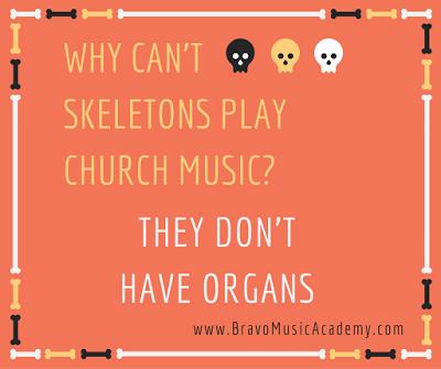 Bravo Music Blog Friday Funnies Skeleton Music Friday Humor Clean Jokes For Kids Church Jokes