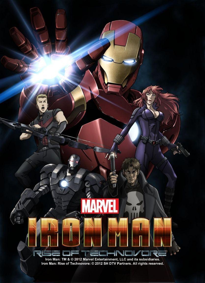 Iron Man Rise of the Technovore Marvel Animation