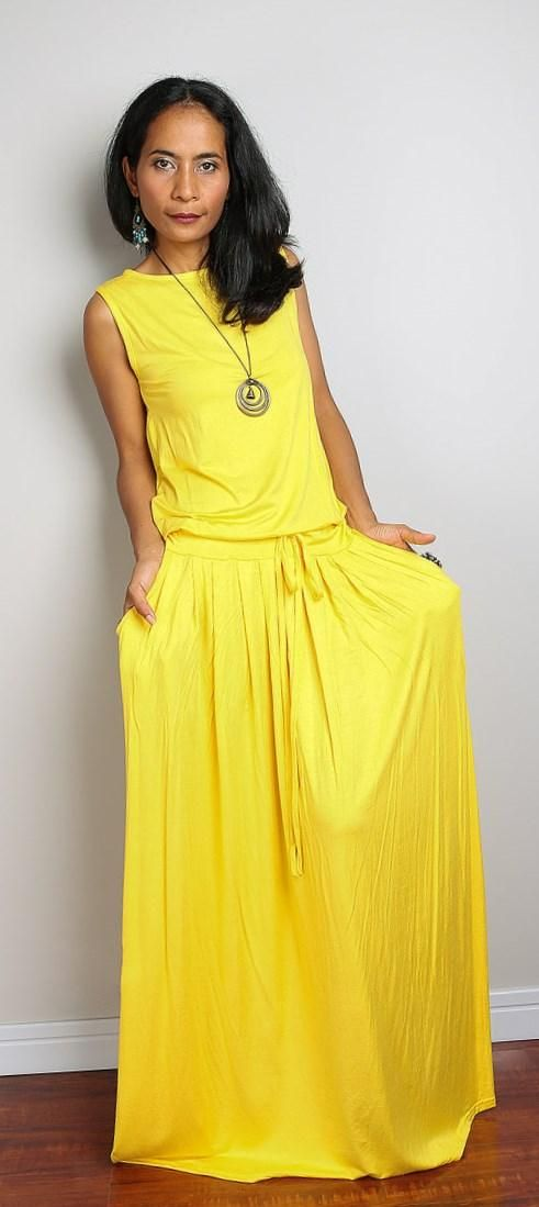 New Arrival New Plus Size Maxi Dress in Black, Lime Green and Yellow ...
