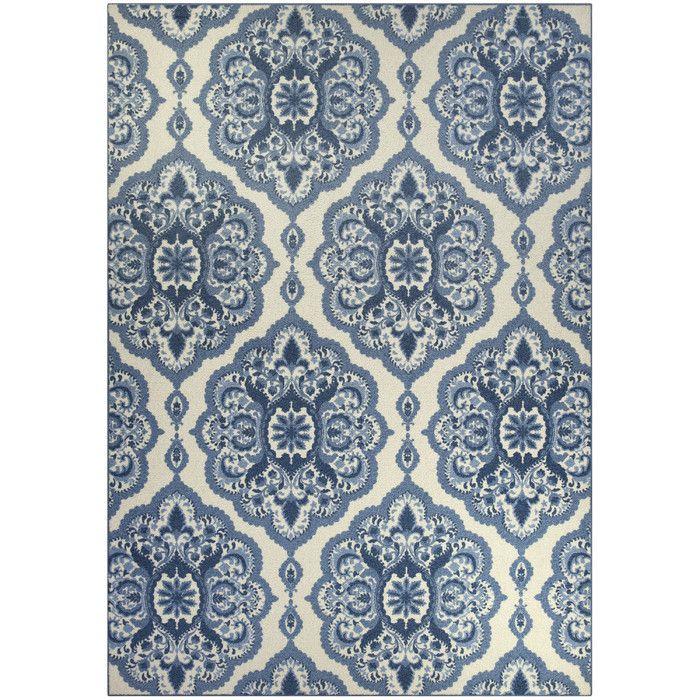 blue area rugs