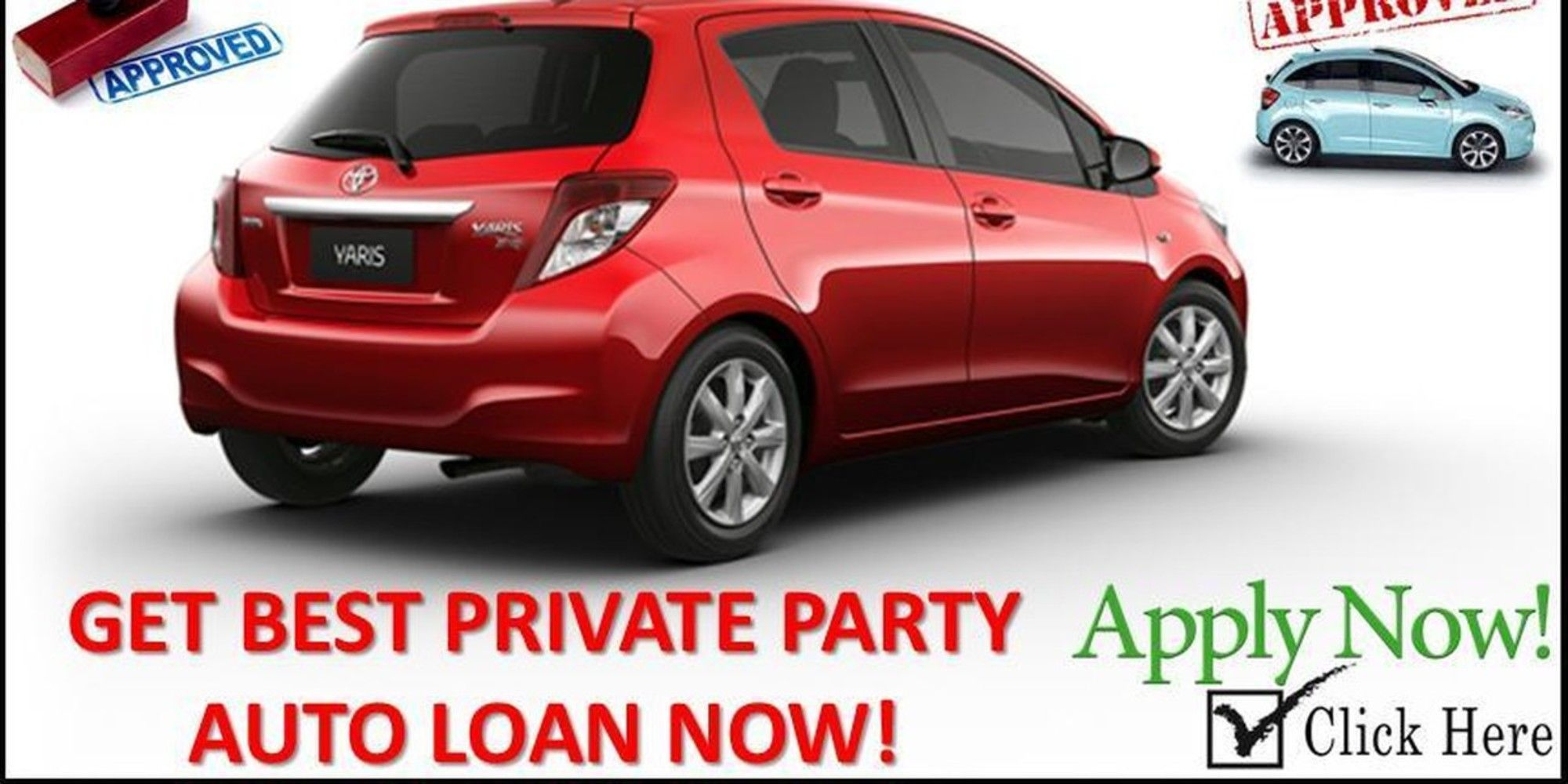 Now get the best private party car financing for bad