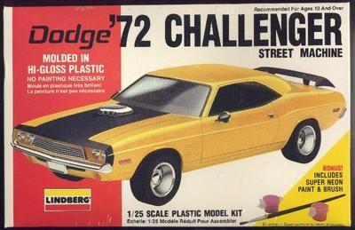 LINDBERG DODGE '72 CHALLENGER