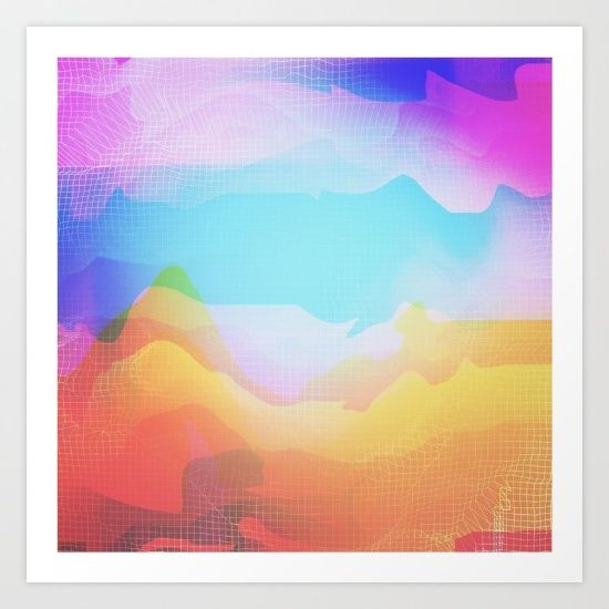 www.society6.com/seamless #art #digital #society6 #artprints  #wallart #homedecor #glitch #glitchart #abstract