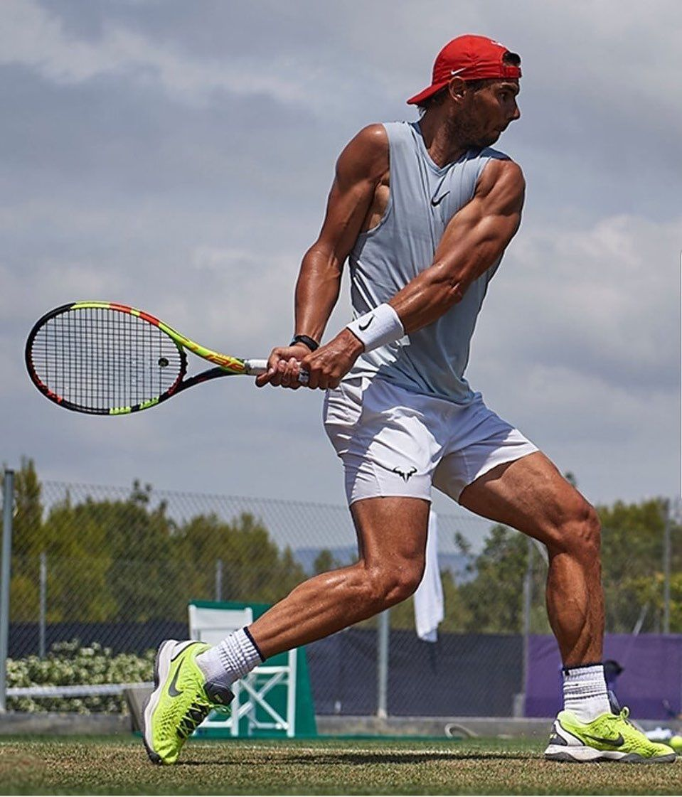 I Found This So Artistic Rafaelnadal Tennis Wimbledon Art Credit Tennis Clothes Tennis Champion Nadal Tennis