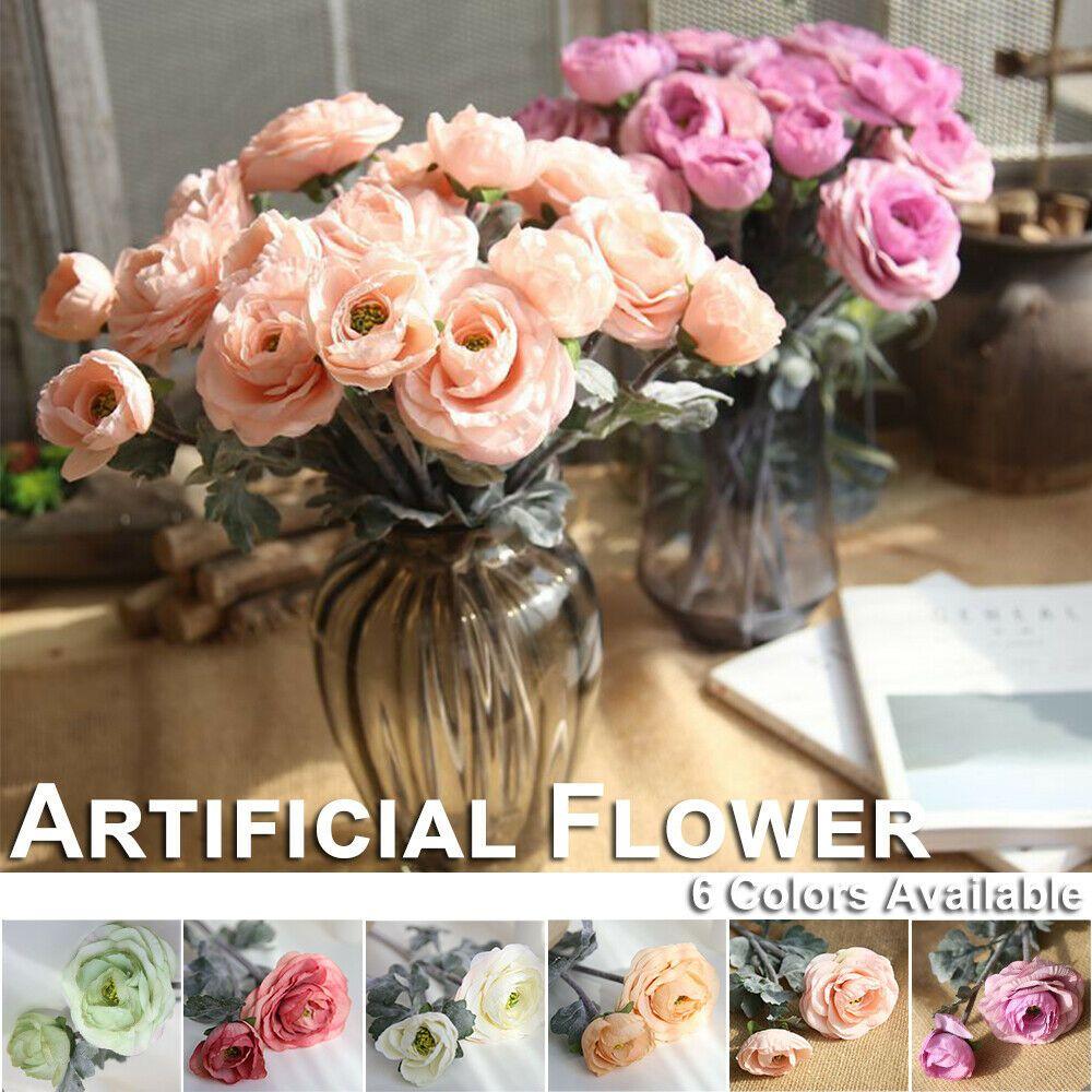 Details About 2 Heads Artificial Camellia Flowers Fake Silk Bridal Bouquet Wedding Home Decor With Images Diy Bridal Bouquet Artificial Flower Wedding Bouquets Artificial Flower Bouquet